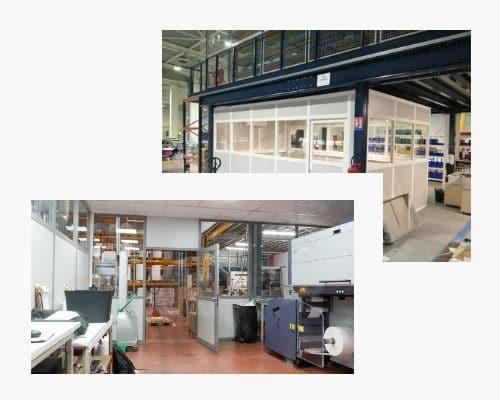 Cabines industrielles