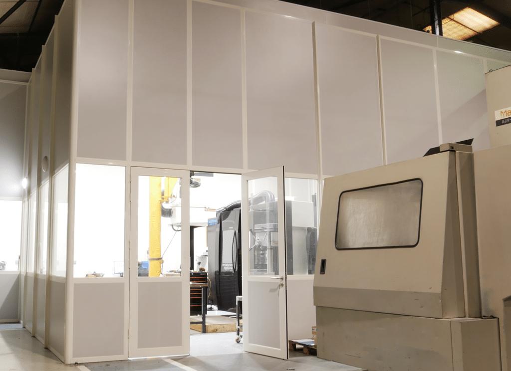 cabine industrielle