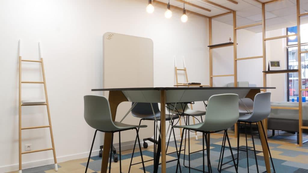 aménagement bureau salle réunion lyon Réalisation Chemin Aménagement