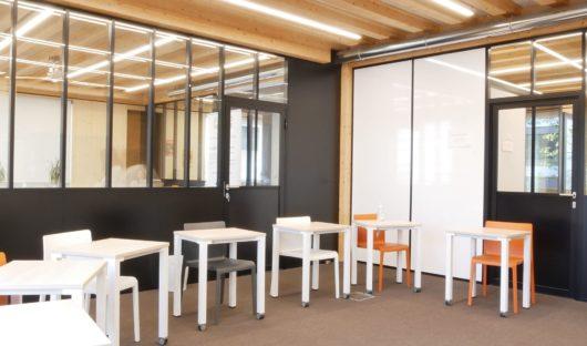 Cloison atelier et cloison écritoire- espace de formation